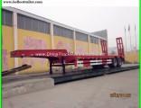 2 Axles 40 Ton Lowboy Truck Trailers