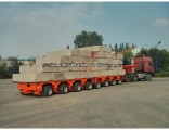Hydraulic Rotary Axles Low Bed Gooseneck Trailer