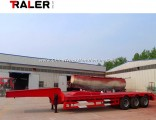 3 Axle Low Bed Semi Trailer with Payload 60 Ton