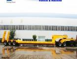 Axles Trailer 60 Ton 80 Ton Low Bed Semi Trailer