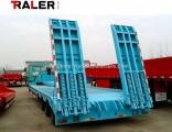 Tri Axles Gooseneck 13 M Excavator Low Bed Semi Trailer