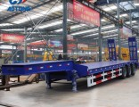 Hot Sale High Quality 3 Axle Low Bed Semi Trailer