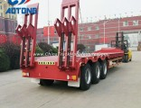High Quality 3 Axle Low Bed Semi Trailer