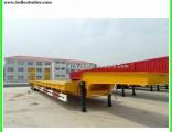 Heavy Equipment Transport Tri-Axle 60 Ton Excavator Trailer