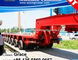 China Manufacturer Goldhofer Heavy Duty Muti-Axle Freely Combine Modular Trailer