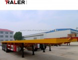 Flatbed Side Lifting Self Dump Semi Trailer with Good Quality