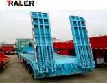 Cimc Manufacture Low Bed Semi Trailer for Sale