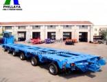 Heavy Engineering Transporter Multi Hydraulic Swing Axles Modular Trailer