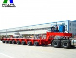Heavy Duty Lowbed Dismountable Modular Trailer for Bridge