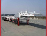 China Factory Supply 3 Axle Lowbed Semi Trailer