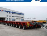 Heavy Duty 100-1000 Tons Modules Low Workbed Modular Semi Trailer