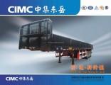 3axles Drop Side Cargo Truck Semi Trailer for Sale