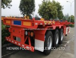 Heavy Duty Tractor Truck Cargo Container Semi Trailers for Transporting