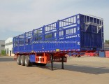 3 Axles Stake/Side Board/Fence/ Truck Semi Trailer for Cargo/Fruit/Livestock/Mineral with Jost C200