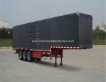 Hot Sale ISO9001/CCC Certificate Carbon Steel 3 Axles Van/Box Truck Semi Trailer for Cargo Transport