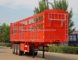 New Flywheel 3 Axle Livestock Fence/Stake Semi Trailers/Animals Cargo Truck Trailer