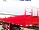 Manufacture Side Wall/Side Drop/Side Board/Bulk Cargo Truck Semi Trailer