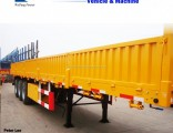 3 Axles Side Wall Cargo Truck Semi Trailer for Sale