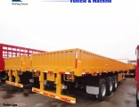 60ton Side Wall/Side Drop/Side Board/Bulk Cargo Truck Semi Trailer
