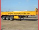 3 Fuwa Axles 30 Tons 60 Ton Cargo Transporting Side Wall Semi Truck Trailer