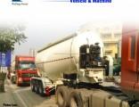 3 Axle 38m3 Bulk Cargo/Cement/Powder Tanker/Tank Truck Semi Trailer