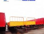 3-Axle Wall Side Cargo Truck Semi Trailer