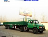 3axles Side Wall/Side Drop/Side Board/Bulk Cargo Truck Semi Trailer