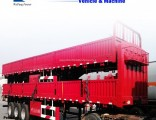 Tri-Axles Side Wall/ Side Board/Fence Cargo Truck Semi Trailer