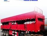 Tri-Axles Side Wall/ Side Board/Fence Cargo Truck Semi Trailer