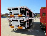 Double Axle 20feet Container Transport Semi Truck 20FT Cargo Trailer