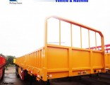 40ton 3axles Side Wall/Side Drop/Side Board/Bulk Cargo Truck Semi Trailer