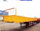 40ton Side Wall/Side Drop/Side Board/Bulk Cargo Truck Semi Trailer