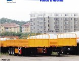 40 Feet Side Wall Cargo Flat Semi Trailer Truck Trailer