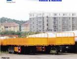 40 Feet Side Wall Cargo Flat Semi Trailer Truck Trailer