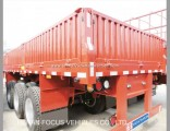 Manufacturer Bulk Cargo Transport Sidewall / Side Board Semi Trailer for Sale