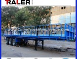 Stand Column Cargo Semi Trailer for Transport Timber
