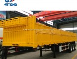 600+400mm Side Board 13m Length General Cargo Transport Semi Trailer