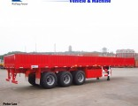 Weifang Forever Tri-Axle Side Wall Semi Trailer for Bulk Cargo Transport