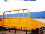 3 Axles Side Wall Semi Trailer for 60t Cargo Transport