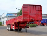 Cargo Trailer, Tri-Axle 40ton Side Wall Semi Trailer for Sale