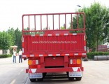 High Quality 3axles/12tyres Side Wall/Fence/Sideboard/Plate Utility Cargo Semi Trailer