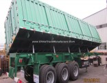 3 Axle Heavy Duty Dump/Tipper Trailer for Mineral/Iron/Stone/Sand/ Mine Transport