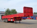 High Quality 3axles/12tyres Side Wall/Plate/Fence/Sideboard Utility Cargo Semi Trailer