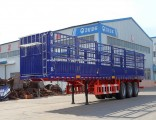 New Tri-Axle 60 Tons Stake/Fence Truck Semi-Trailer for Livestock Transport