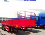 2/3axle Side Wall Fence Cargo Trailer for Sale