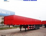 Flatbed Trailer Side Wall Fence Cargo Truck Trailer
