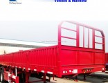 China Manufacture 2/3axle Side Wall Fence Cargo Trailer for Sale