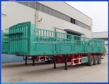 Box Tri-Axle Side Wall Drop Side Panel Fence Cargo Trailer