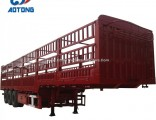 Hot Sale 40FT 60tons Livestock Trailers/Cargo Trailer/Fence Trailer for Sale
