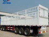 Hot Selling 60tons Livestock Trailers/Cargo Trailers/Fence Trailer for Sale